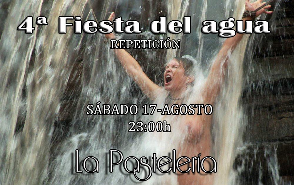 4ª FIESTA DEL AGUA-WATER PARTY BDSM (REPETICIÓN) @ La Pastelería BDSM
