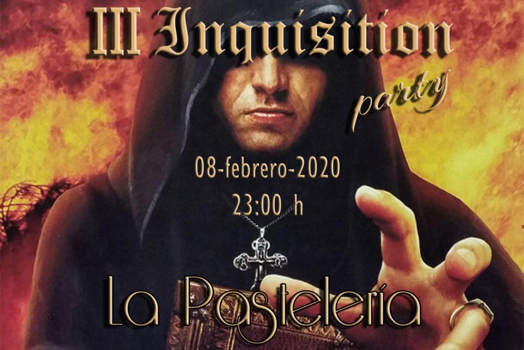 III Inquisition Party BDSM en La Pastelería-Madrid @ LA PASTELERÍA BDSM